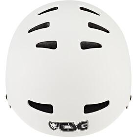 TSG Evolution Solid Color Helmet satin white
